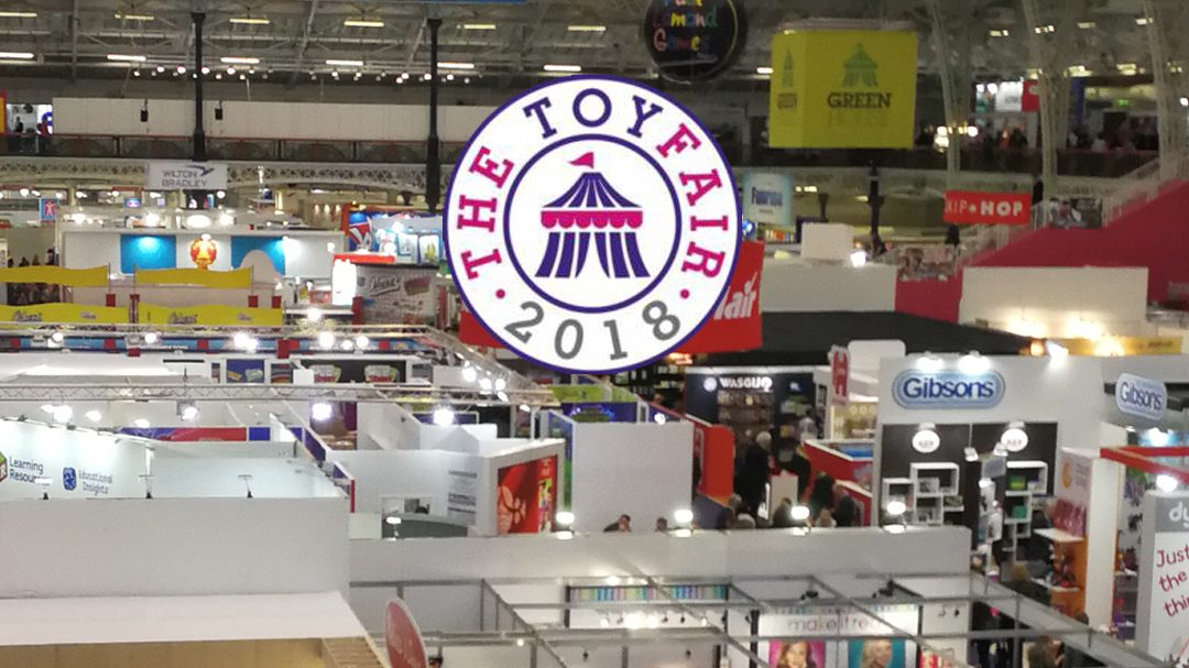 TEDDYBOTS AT LONDON TOY FAIR 2018